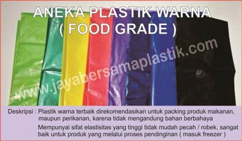 Plastik PE Warna